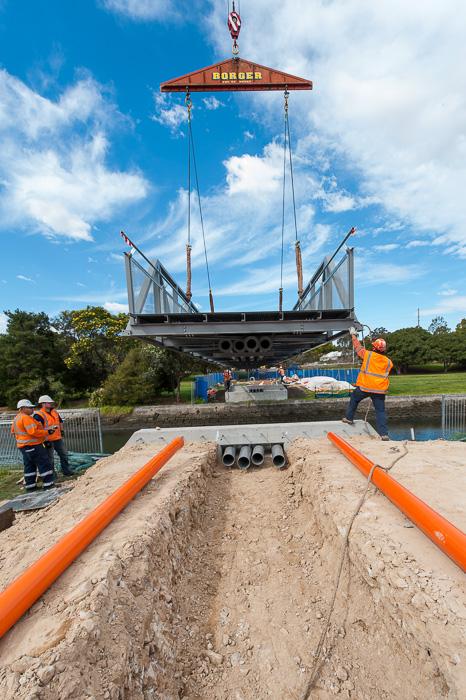 bridge lift ashfield