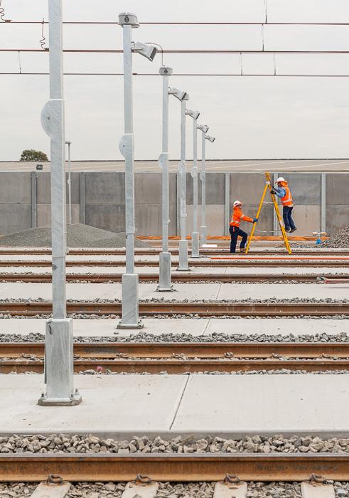 Auburn Rail Stabling Yard